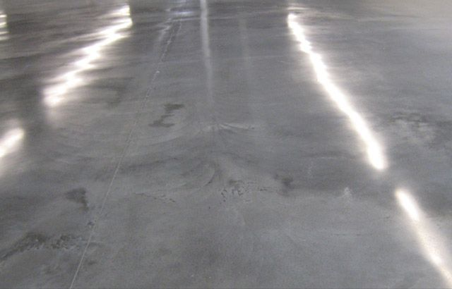 Polishing for Buffing stained concrete floors